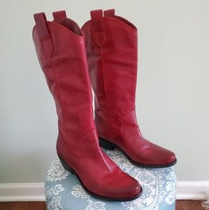 Franco Sarto Western Style Cowgirl boots